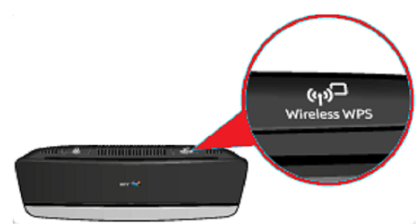WPS Connection Method Set Up